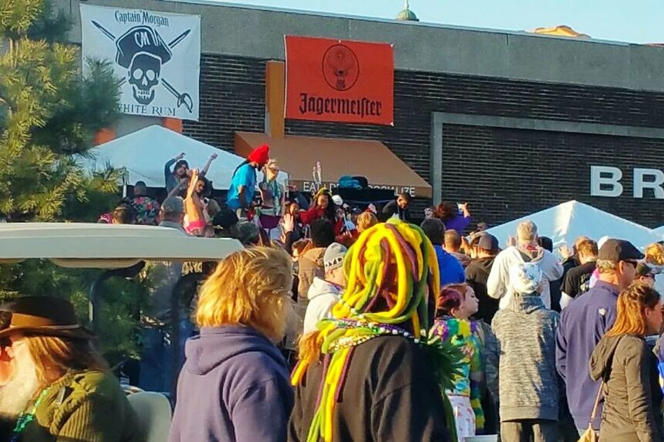 Colors Of Carnival Taking Photos Mardi Gras 2016. Soulard Farmers Market St. Louis, MO Peoplephotography People Watching Street Photography Streetphotography People Photography Crowd Watching Crowd Croweded Group Of People