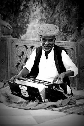 Indian Artist Indian Folk Music Rajasthan India