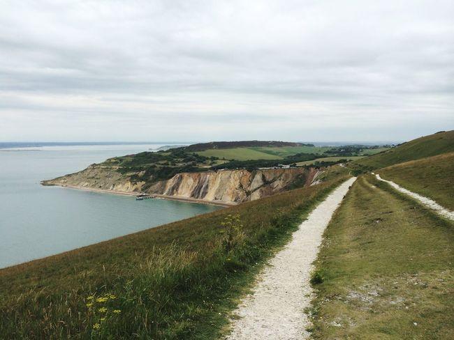 Isle Of Wight  United Kingdom English Coastline