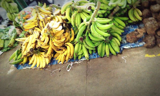 Going To Market Plantains Peppers Marketplace Islandlife