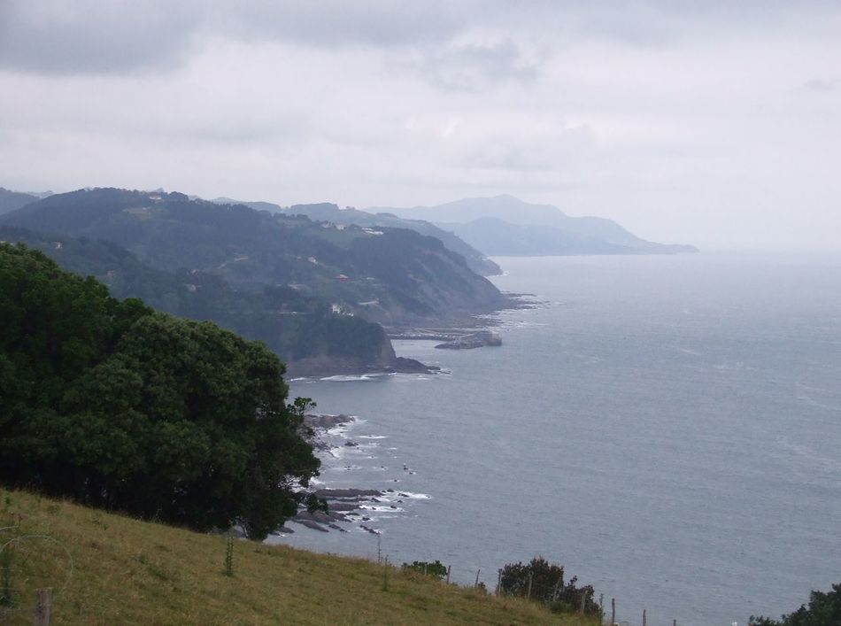 Basque Coast Basque Country Beauty In Nature Cantabric Sea Cantabrico Sea Cantábrico Cloudy Day Cloudy Sky Coast Coast Landscape Coastline Flysch Idyllic Nature Ruta De Los Flyschs Tranquil Scene Tranquility Water Waves And Rocks Waves Crashing Waves, Ocean, Nature