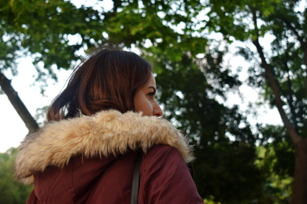 Warm Clothing Hood - Clothing Casual Clothing Only Women One Woman Only Adults Only Headshot Winter Coat Long Hair One Young Woman Only People People Photography The Portraitist - 2017 EyeEm Awards People Of EyeEm People Portrait The Calm Photography Movement The Street Photographer - 2017 EyeEm Awards Day Lifestyles Outdoors Fashion Details In Close Up Focus On Details Photography Themes Streetphotography
