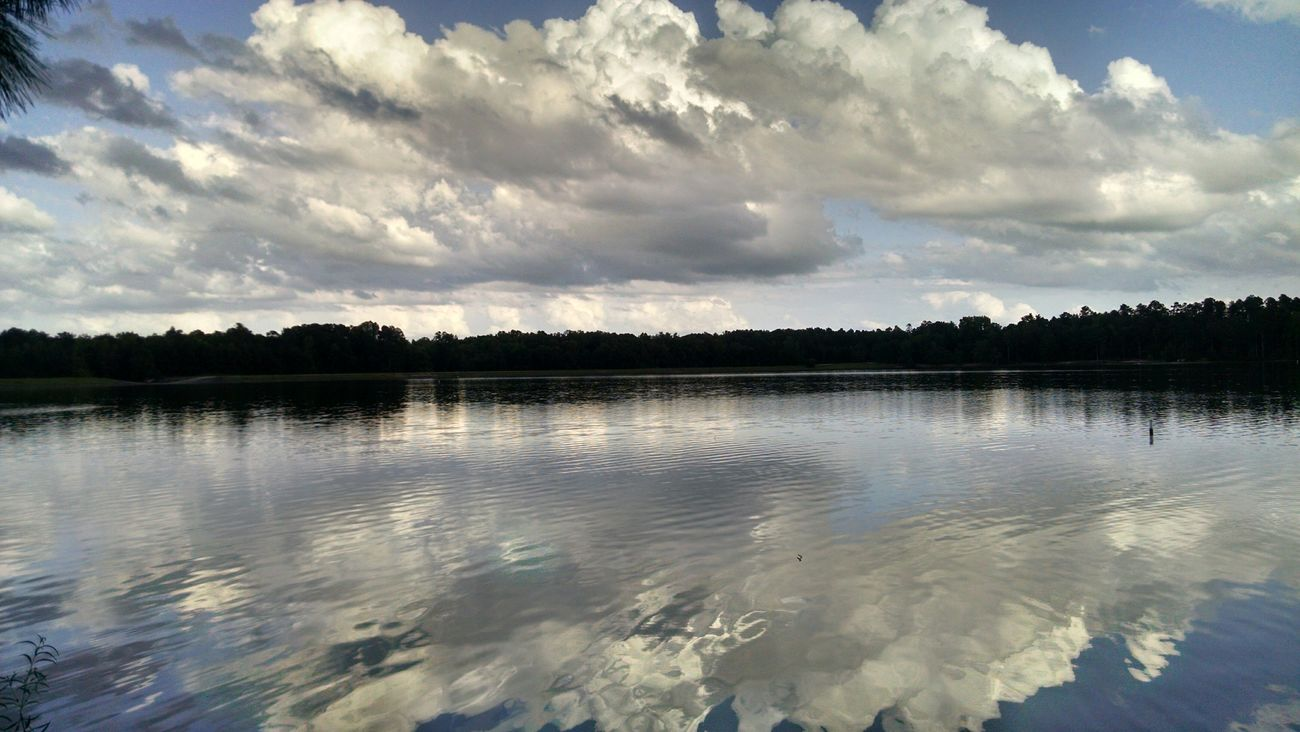 Alabama Parks Reflections Just Fishing Lee County Lake
