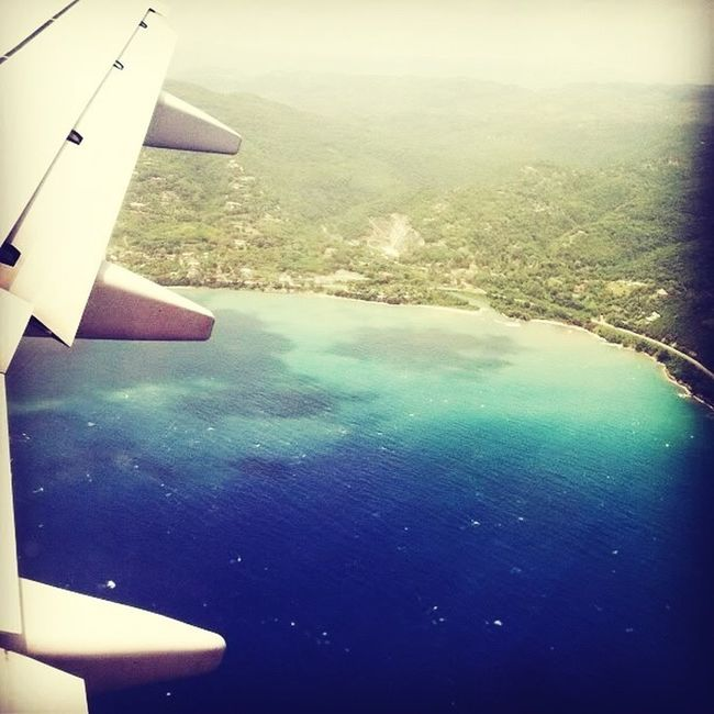 Flying Over Jamrock