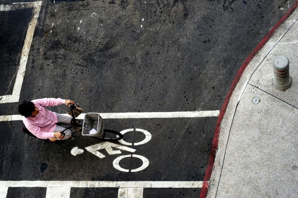 Outdoors Drawing - Art Product Millennial Pink Streetphotography Street Sign On Your Bike Speeding Old But Awesome Street Life Taiwanese Culture