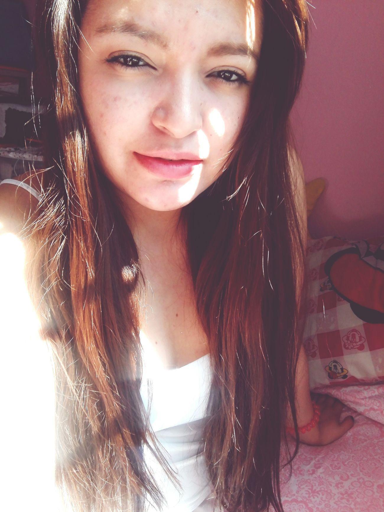 Girl Long Hair Beauty Girls Selfie ✌