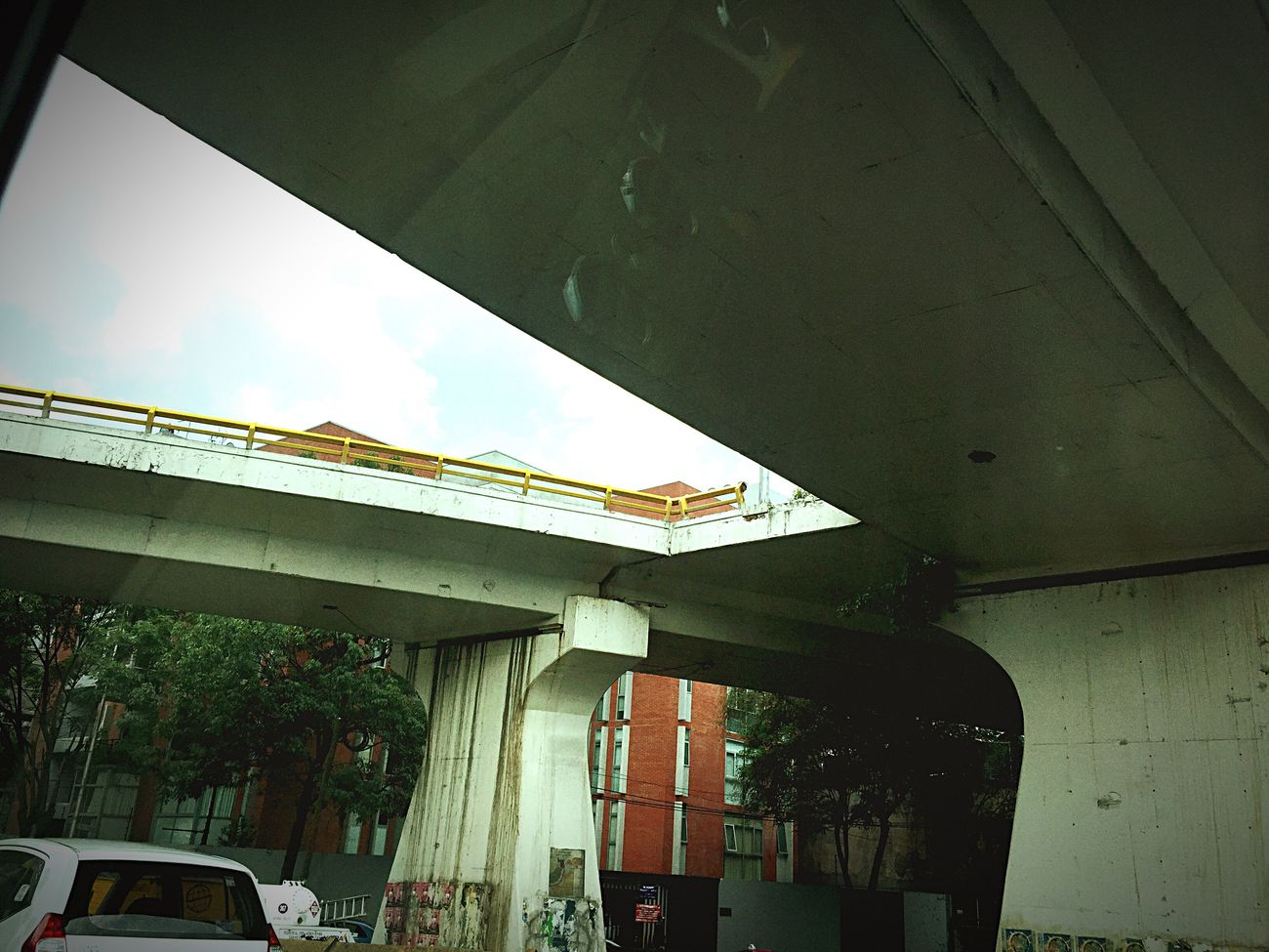 Rumbo al aeropuerto. Puente Puentes PAISAJE URBANO Cdmx Mexico Mexico City Bridge