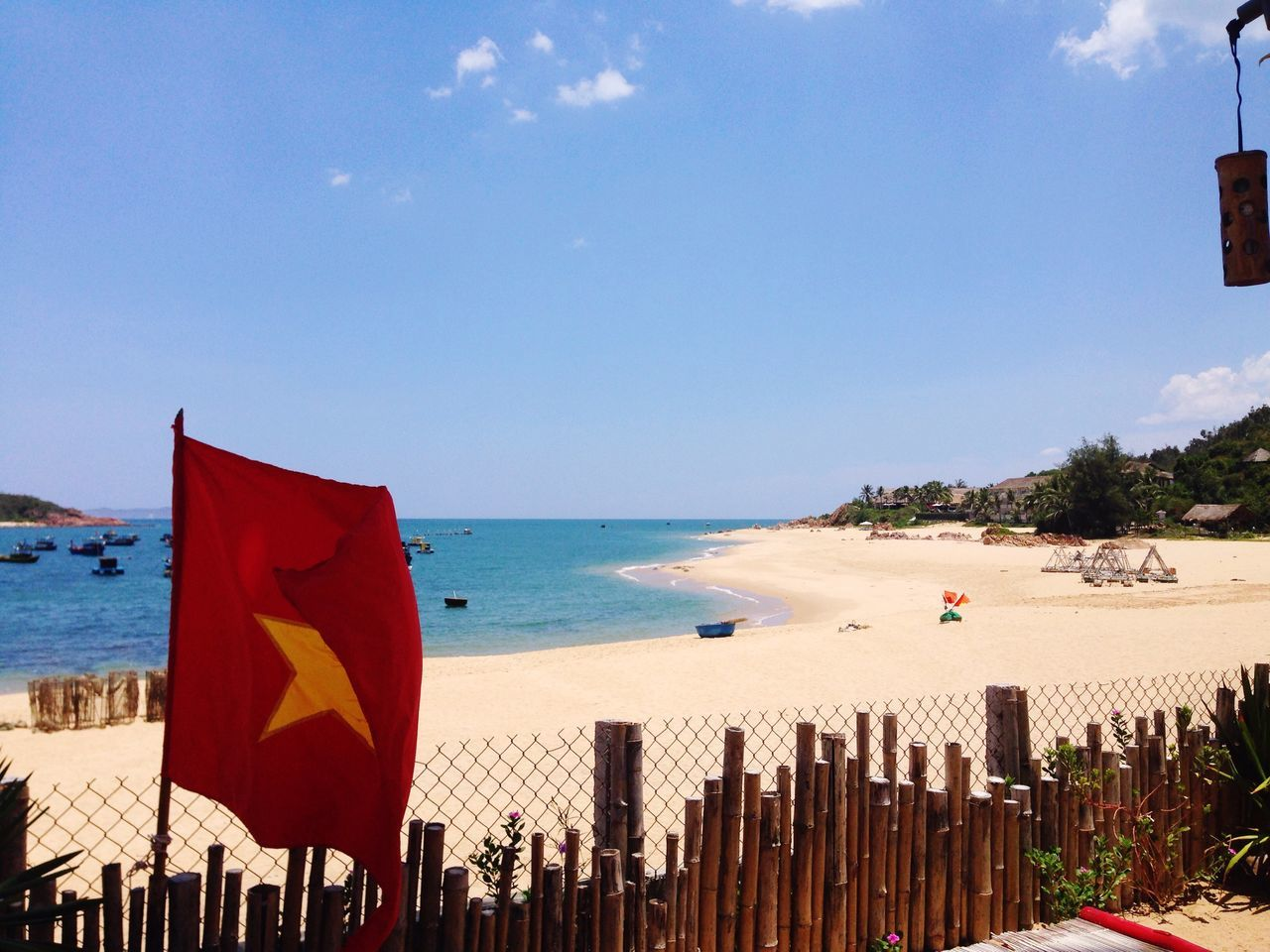 Beautiful stock photos of vietnam, Beach, Beauty In Nature, Day, Flag