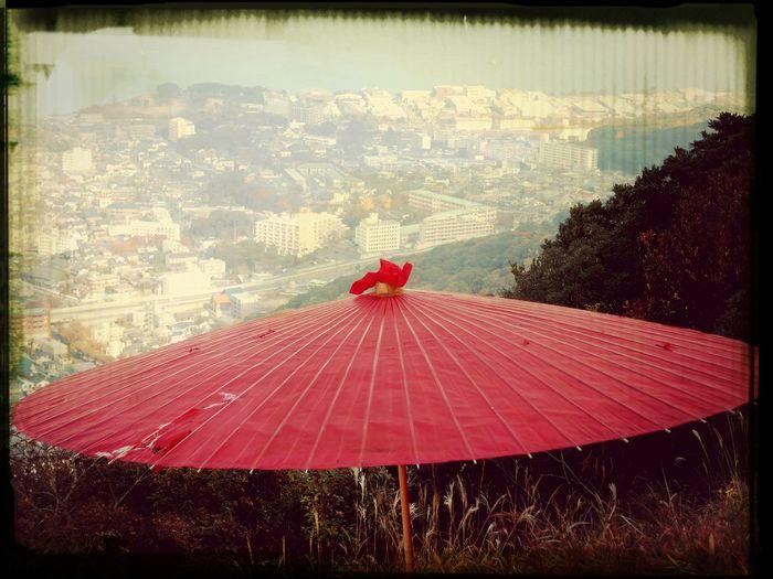 Kitakyushu-shi Kokura 小文字山 山の上での茶会♪(*^^*)