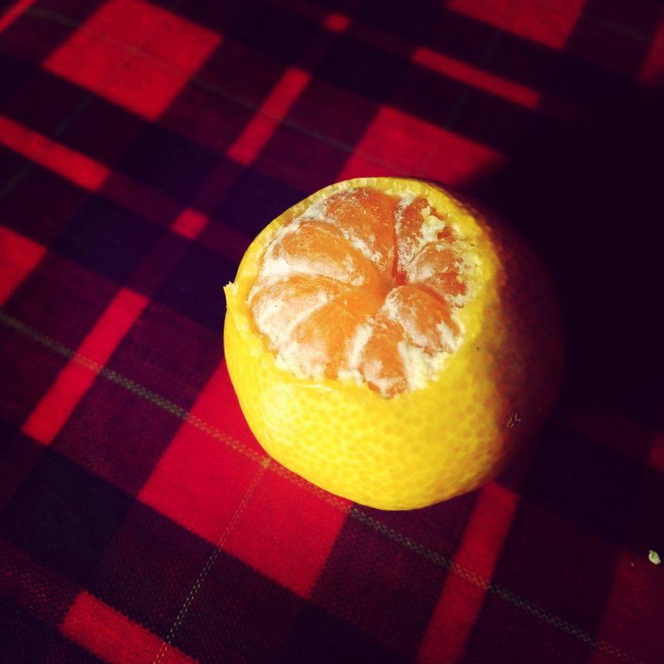 Orange Light And Shadow Babyfruit Food