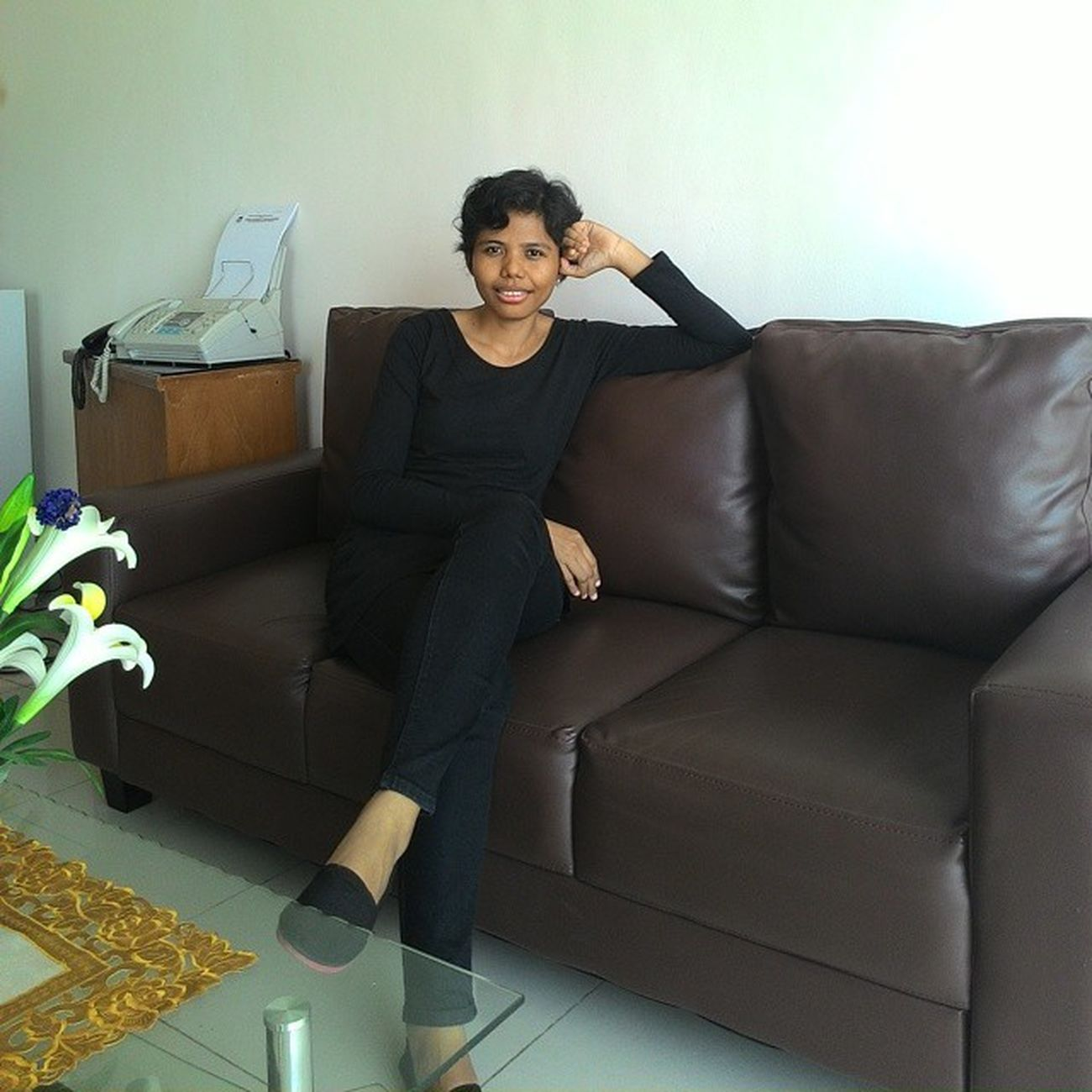 Me Indonesianwomen Overtime Office Blackshirt