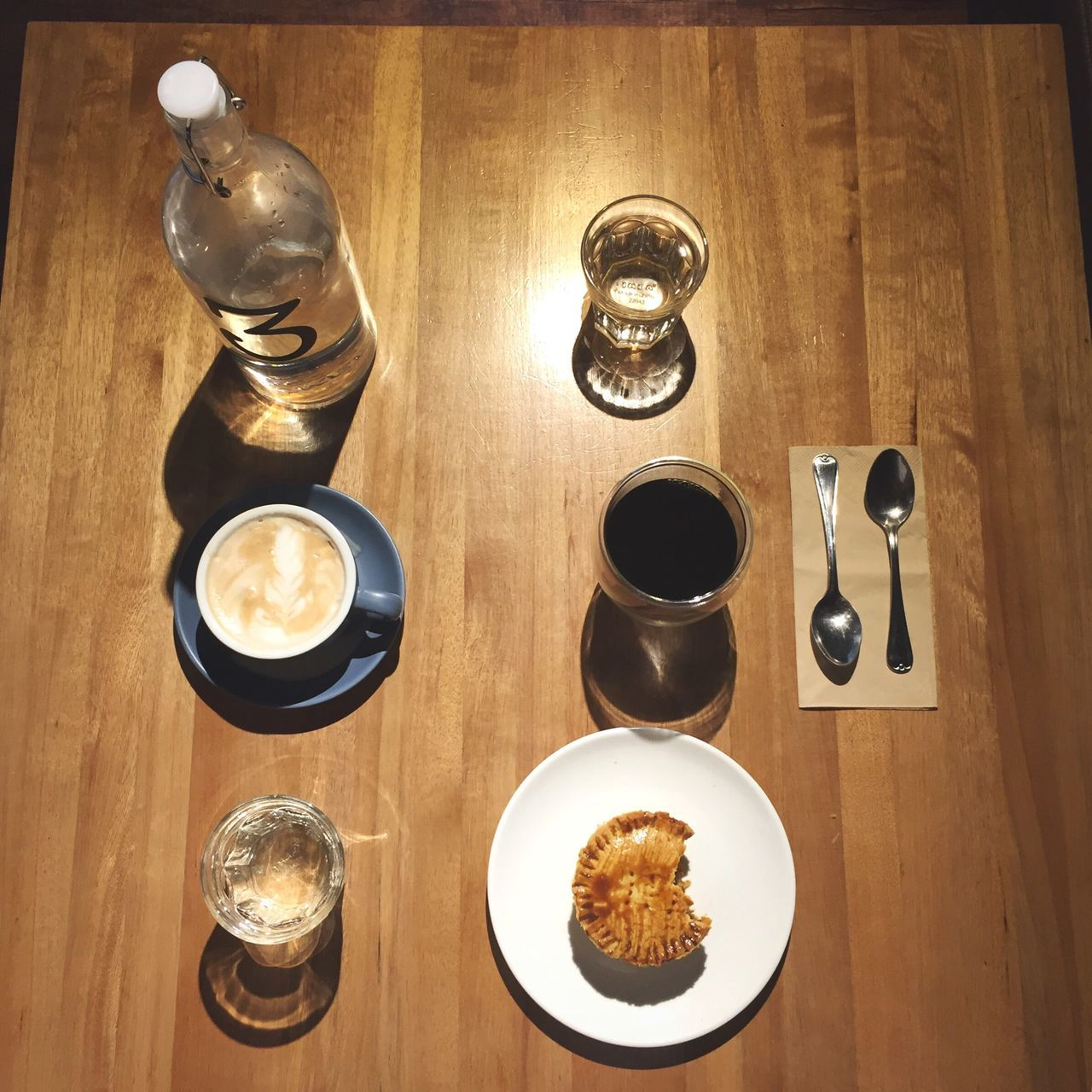 ☕️☕️ Latte Coffee BrewedCoffee Coffee Time High Angle View Wood - Material Food And Drink Freshness Hometown EyeEmNewHere Iphone6