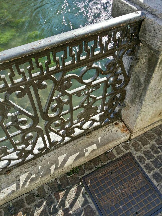 Treviso, Italy Showcase: December Backlight Water Reflections Shadows Mixed Textures
