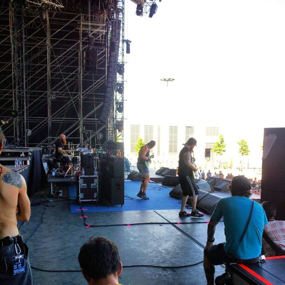 Killswitchengage from the side of the stage :) GOM2012