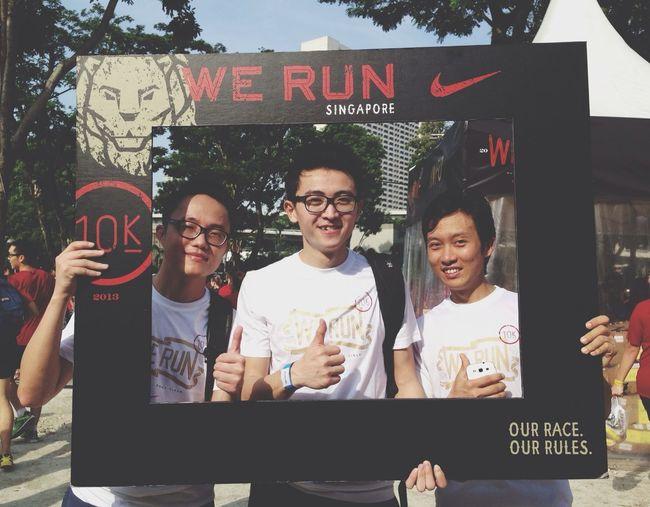 We Run SG Finisher