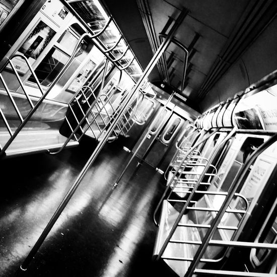 NYC Subway Empty Train Subway NYC