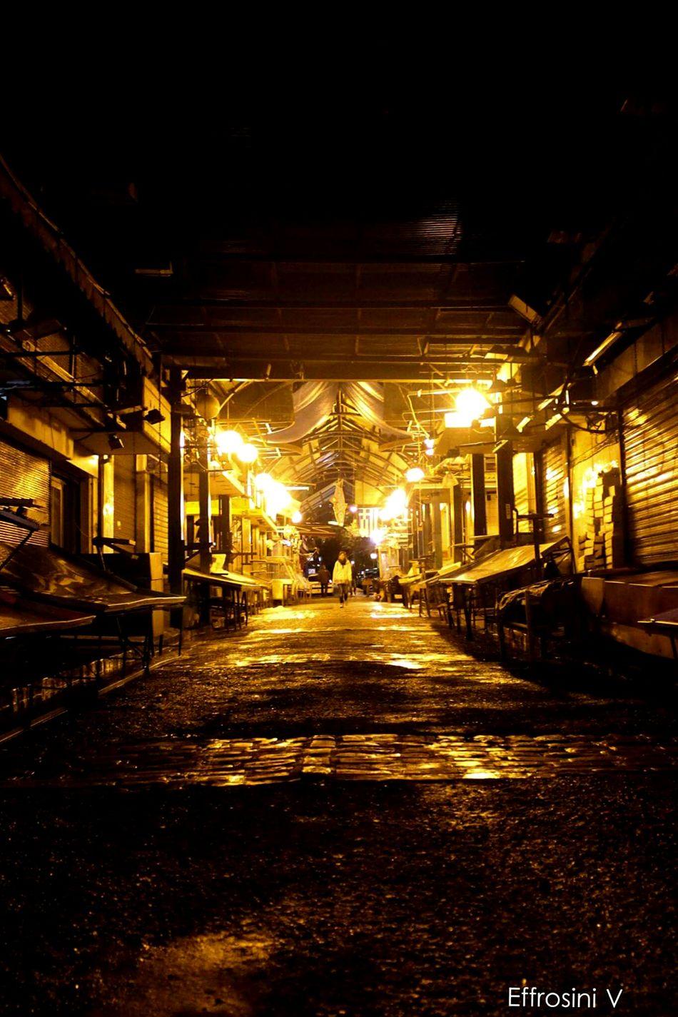 Market FishMarket Old Buildings Night Lights Architecture Street Photography Canon700dphotography CityWalk Thessaloniki Walks GREECE ♥♥