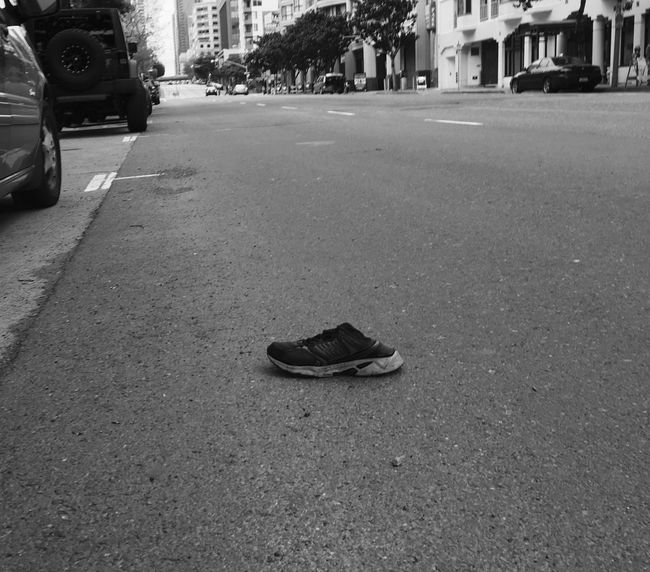 The Missing Shoe Blackandwhite Black And White