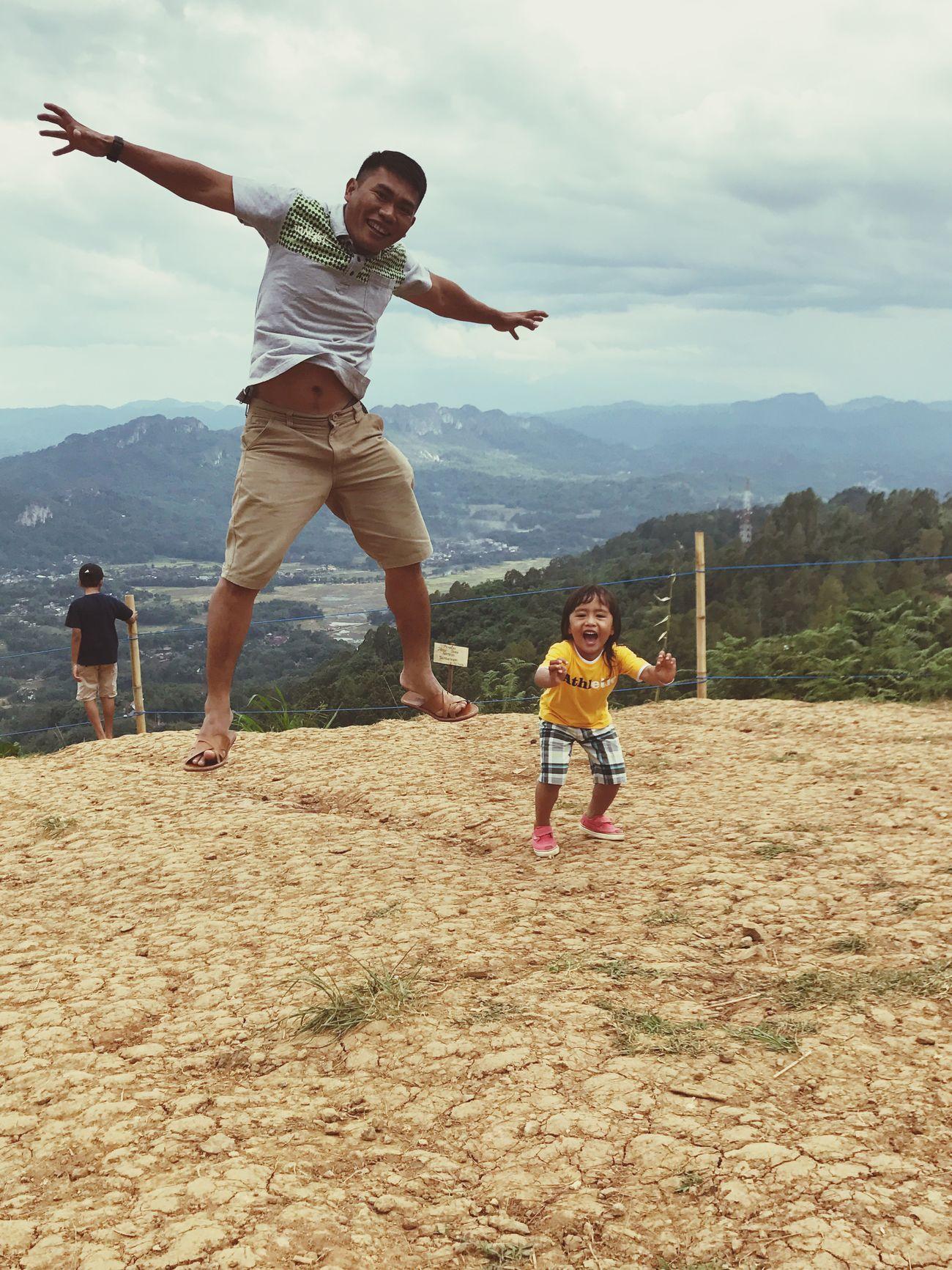Jumping Sky Landscape Nature Negeridiatasawan Toraja Toraja Utara