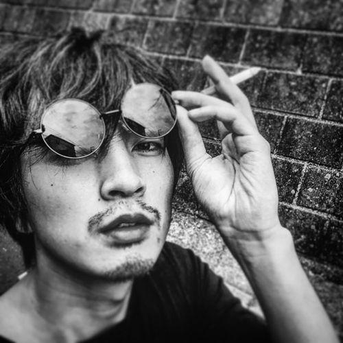 That's Me Hello World Selfie Selfportrait Monochrome Peaple