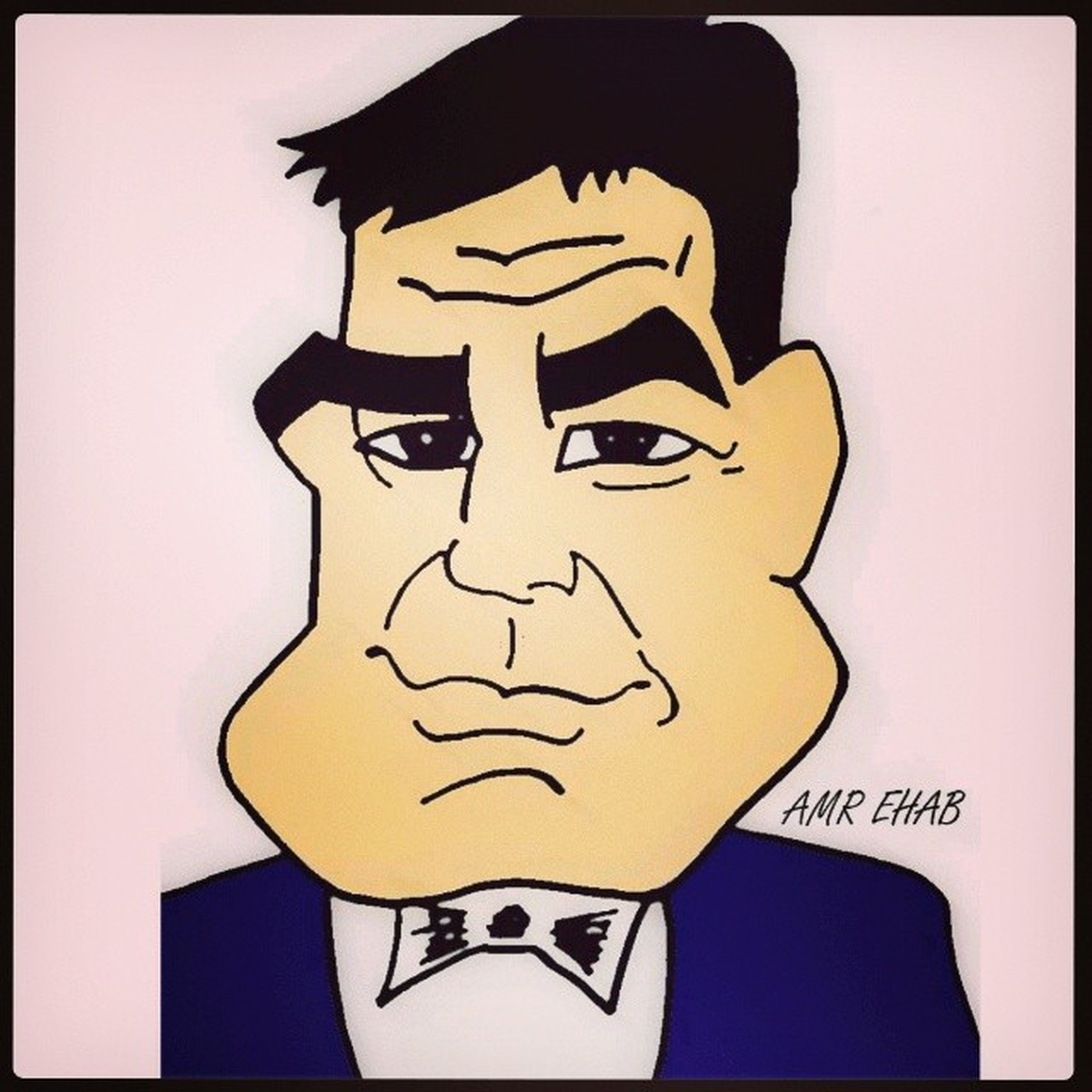 Jeorge Clooney Amazing Edit by mohamed khaled tslm tags_for_likes luf_it from My drawing caricature became cartoon ©