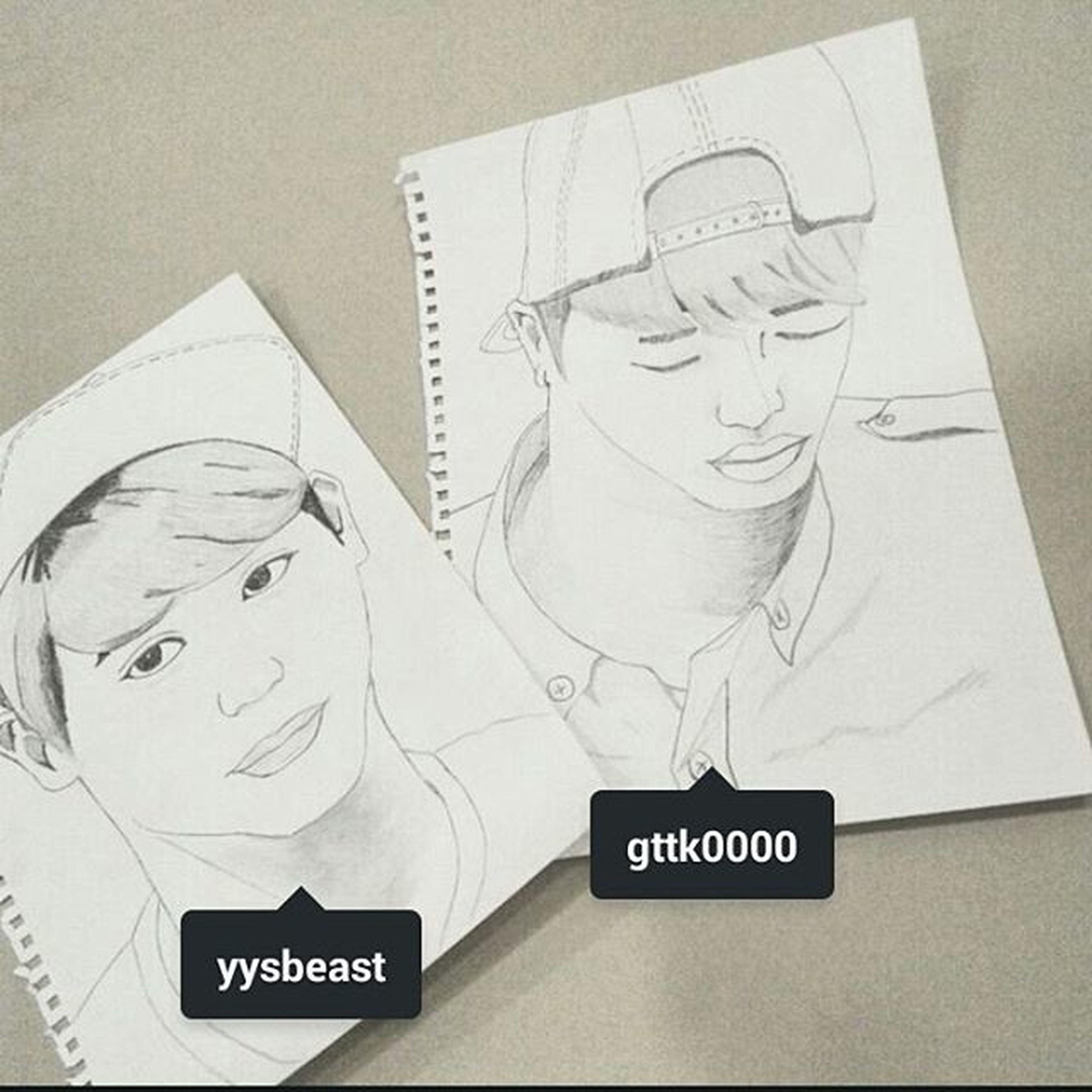 Drawn by @love_sistar Art Drawnby - Beast Gikwang Yoseop