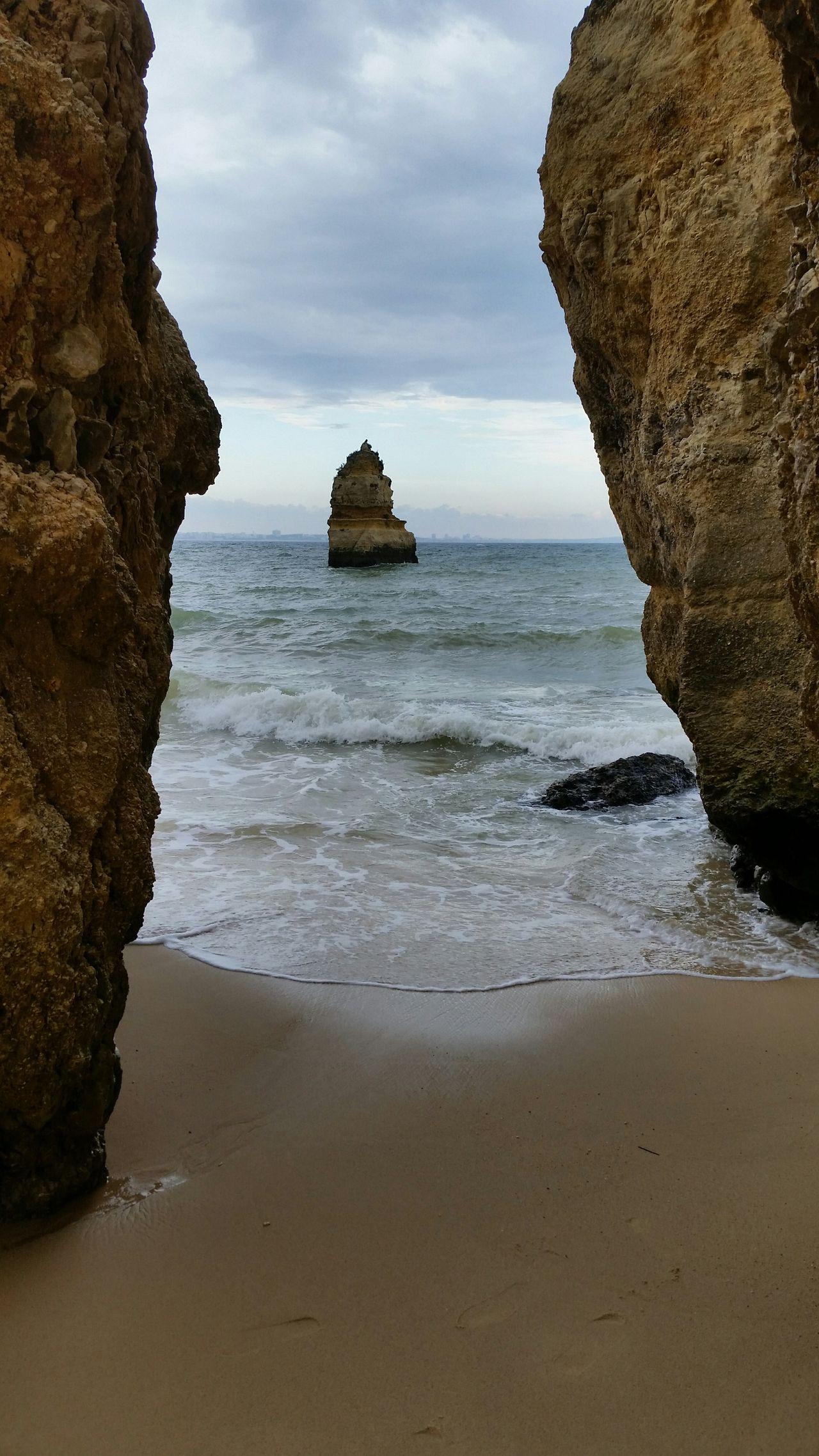 Ocean Water Clouds Rocks Sand Beach Waves Portugal Ocean Waves Camilo