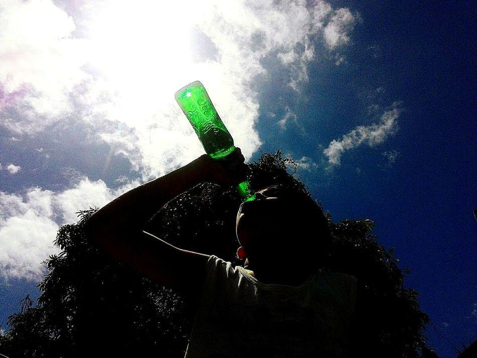 Drink it up! Emeraldgreen Cerulean Blue Photowalk Soft Drink MyPhotography Mobile Photography Eyeem Philippines EyeEmFiveSenses