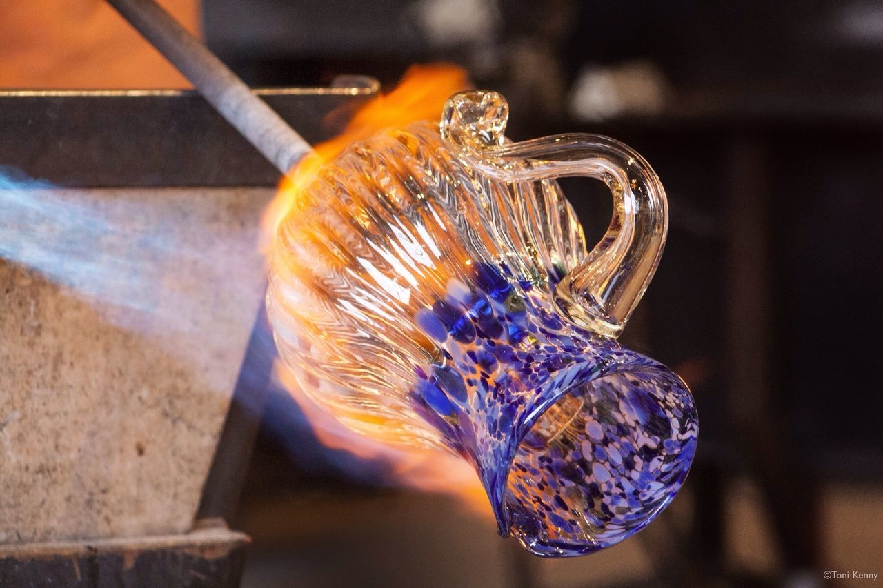 Callahan's Firehouse Glass Studio, Langley, Washington, Whidbey Island EyeEmbestshots Shootermag AMPt Community Art