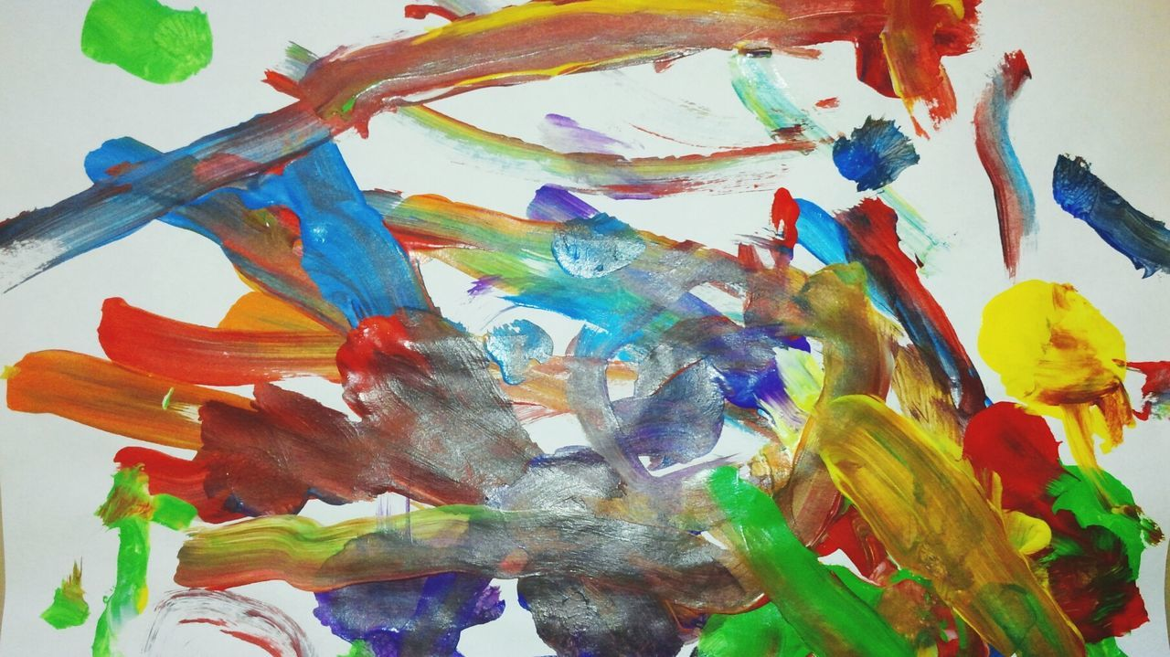 Finger Painting Kids Art Art ArtWork Colorful Paintings Painting Paintings Creative Child Creativity Creative Artwork Elaborate Artwork Abstractions In Colors Colorful Preschool Kindergarten Arts And Crafts Rainbow Colors Children Of The World Cultures Colour Of Life The Color Of School