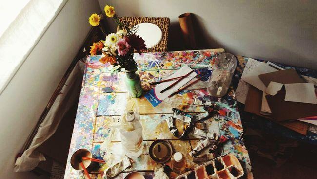 Home Is Where The Art Is . Hello World Enjoying Life Art Bohemian ArtWork Artist Artphoto Arte Photography Art óleo