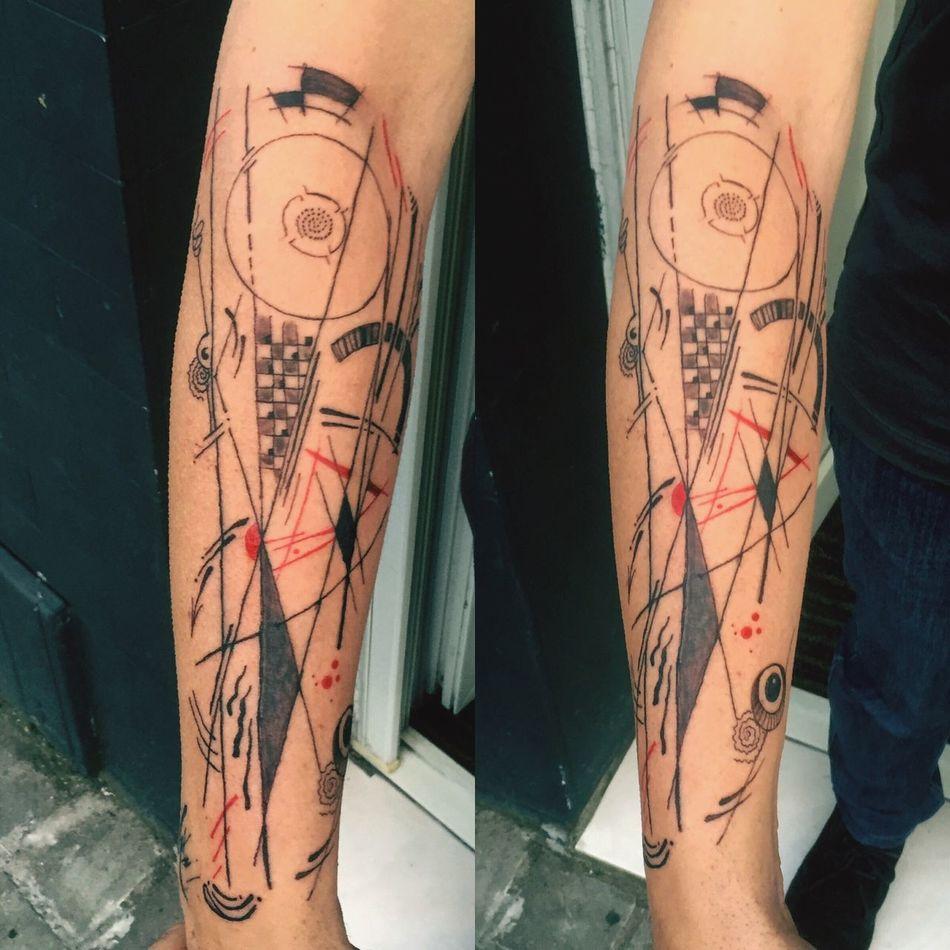 Ink Tattoo Design Amazing Tatto Tattoos Art, Drawing, Creativity Tattoo ❤ Tattooartist  Kandinsky Tieumdekotattoo Tieumdeko Inked Tatted Tattooed Tattooshop