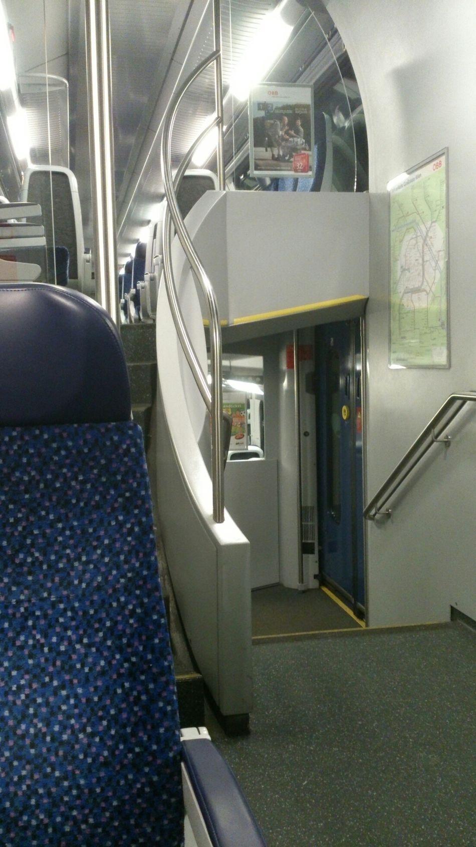 öbb Schnellbahn Im Zug Travel