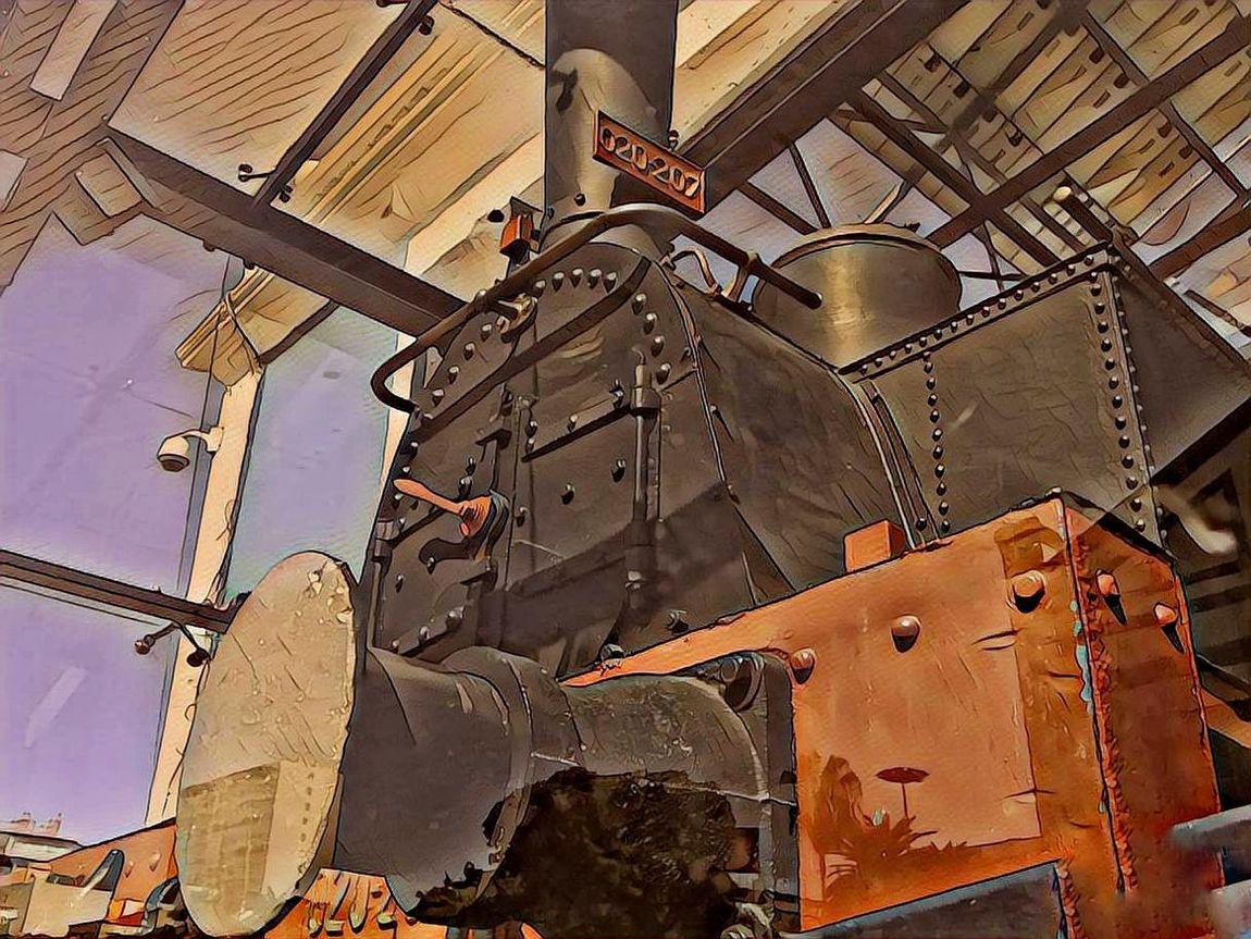 Built Structure Close-up Davidvincentvulcain Eyem Gallery Train Locomotive Afteralongtime Art Is Everywhere