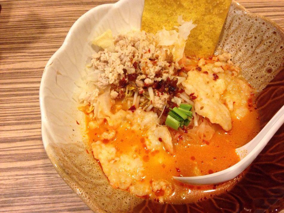 Tom Yum Noodle Tom Yum Thin Noodle Mint Prawn Top Shot Orange Color Lunch Hot Hot Ratchadapisek Esplanard