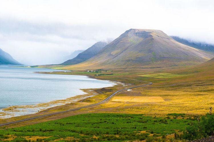Iceland Mountain Fjord