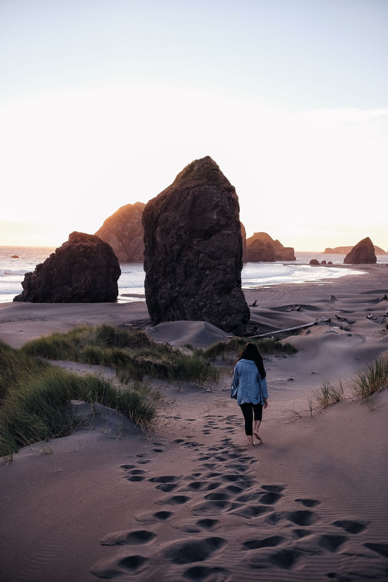 This could be your monument Beach Sea Sand Sky Outdoors Nature Coastline Sand Dune Beauty In Nature Water 12daysofeyeem Prints Of Nature Scenics Oregon Travel Destinations Landscape PNW Tranquil Scene People Finding New Frontiers Traveling Home For The Holidays Miles Away