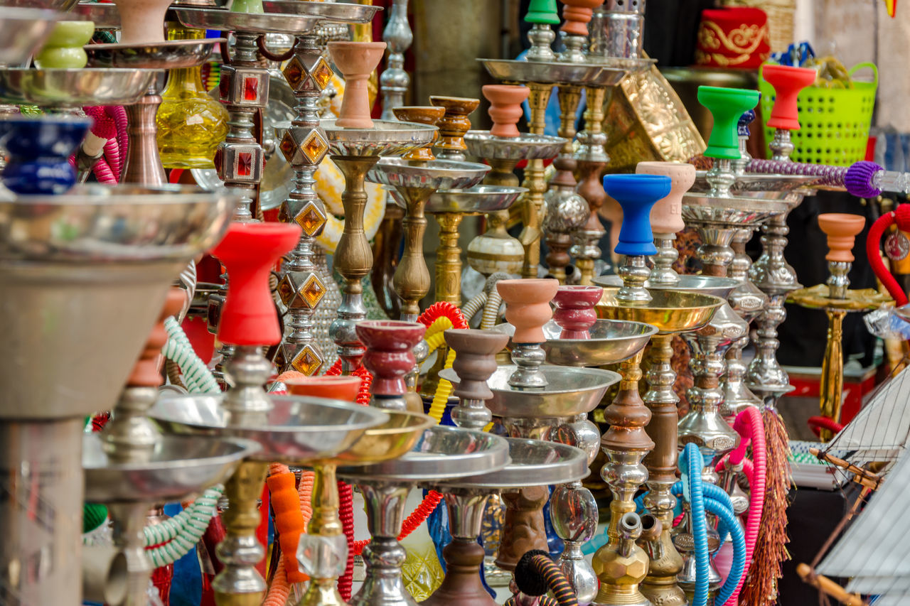 Abundance Choice Close-up Collection Colors EyeEm Team For Sale Hookah Large Group Of Objects Market Market Market Stall Marketplace Multi Colored No People Outdoors Price Tag Retail  Variation Live For The Story BYOPaper! The Street Photographer - 2017 EyeEm Awards