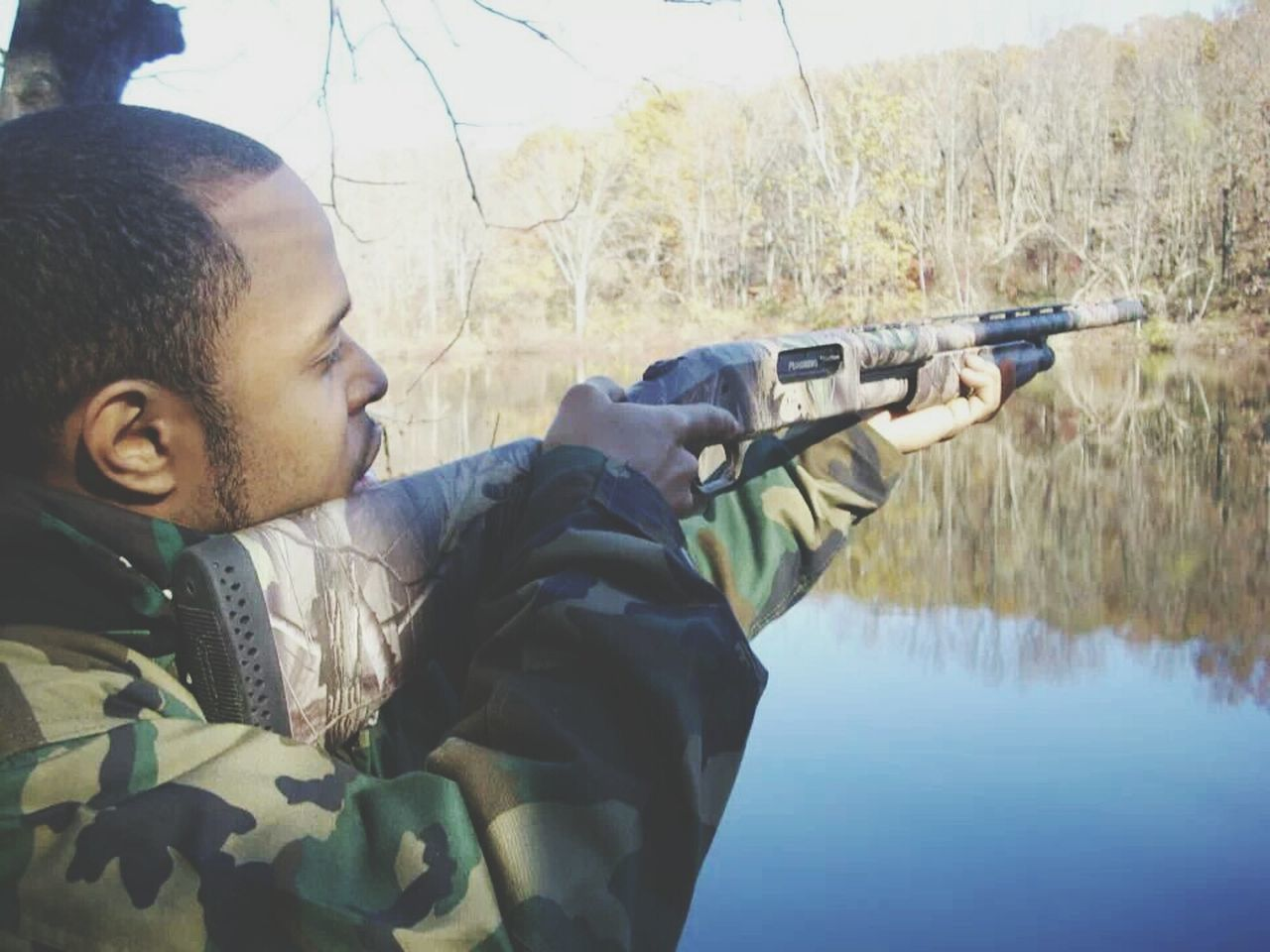Beautiful stock photos of hunting, African-American Ethnicity, Concentration, Day, Focus
