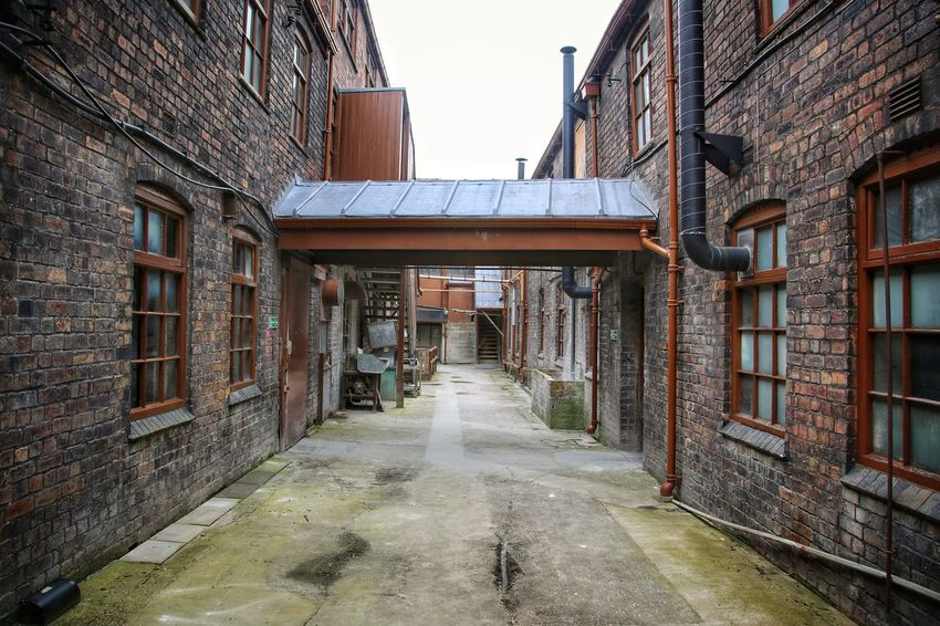 Middleport Pottery Architecture Building Exterior Built Structure Day Middleport Pottery No People Outdoors Sky The Way Forward