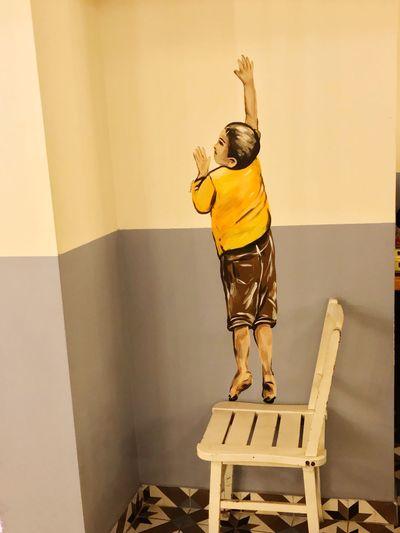 Bırakacağın eli hiç tutma ...! Bakış Ataşehir Uskudar Huzur Zamanidurdur Benimkadrajim Istanbul Turkey Arms Raised Full Length One Person Human Arm Leisure Activity Childhood Indoors