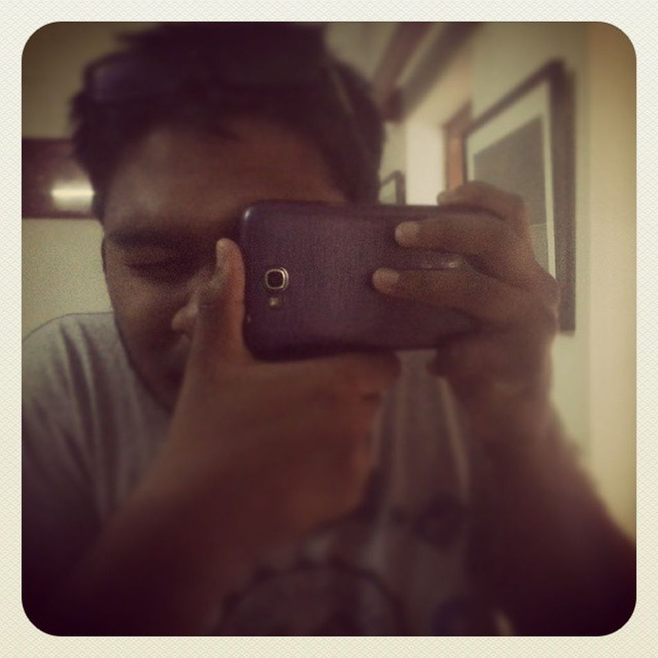 Selfie MyDSLR LOL Fun Glass Cellphone