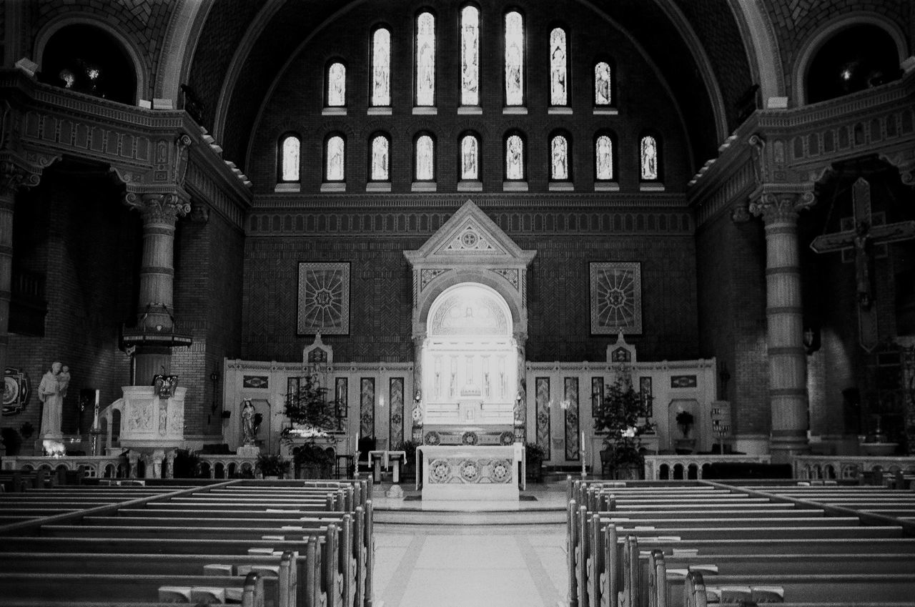 The Architect - 2016 EyeEm Awards Church God Jesus Christ Jesus Holy Trinity New York City NYC Film NikonFE2 Nikon Ilford Ilfordhp5 Ilford 400