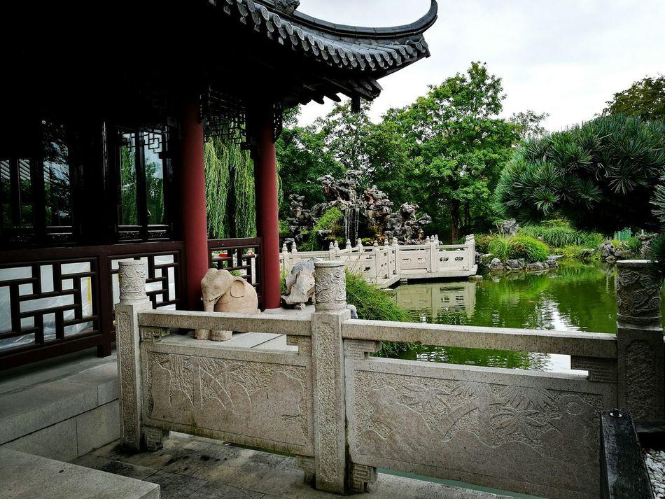 Park China House China Garden Garden Water Building
