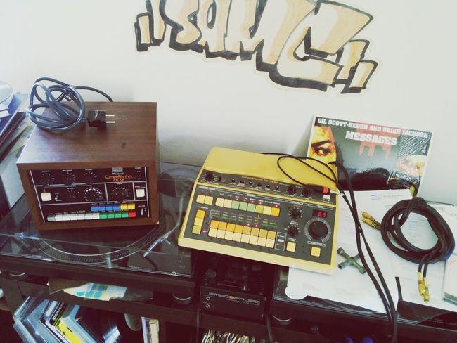 Roland CR-68 & CR-8000 - hello new friends