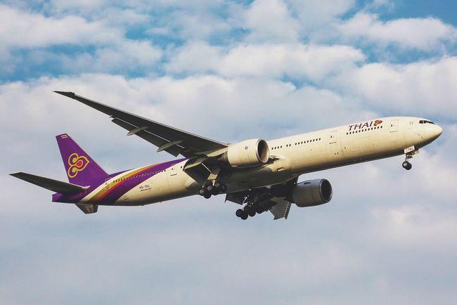 AirPlane ✈ Landing Thaiairways Boeing Boeing 777 B777 B77W