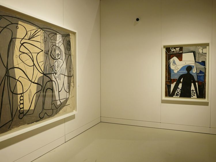 Art Art And Craft Creativity Paintings Geometric Shape Culture Human Representation Soulages Museum Painted Image Soulages Rodez Museum Multi Colored Picasso Musee Soulages Rodez Aveyron Artist Art Museum Pablo Picasso Cubism Painting Creativity Complexity Expo ArtWork