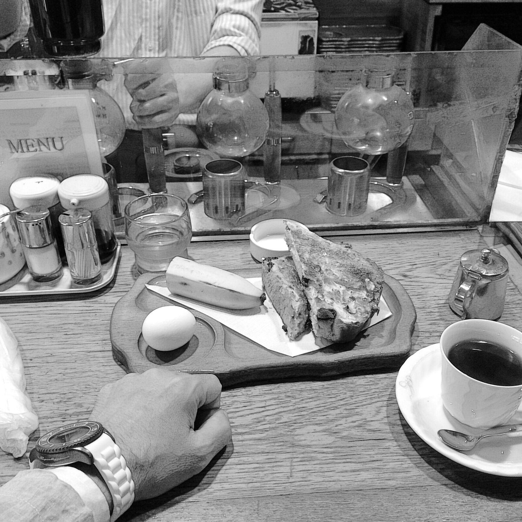 頂きます(*^_^*) Cafe Breakfast Relaxing Coffee