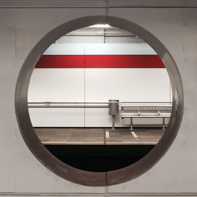 Empty stations...... almost Arch Architecture Circle Geometric Shape Spiral Eyem Best Shots Eeyem Photography Light And Shadow Eye4photography  EyeEmBestPics EE Love Connection! Public Transportation Underground Rotterdam Urban Urban Geometry Street Streetphotography Round Window Construction Architecture_collection Taking Photos
