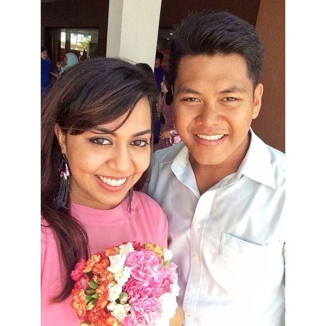 Some selfie before the wedding starts Myafarid